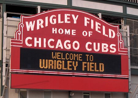 Wrigley Field Billboard
