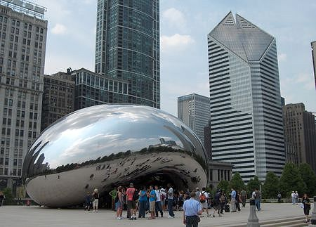 Millenium Park: Cloud Gate, again