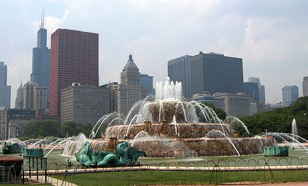 Grant Park: Buckingham Fountain