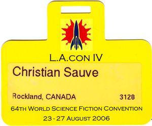 Worldcon 2006: L A Con IV | Christian Sauvé