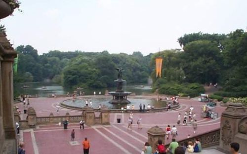 Photo: Central Park Fountain