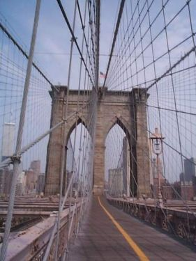 Photo: On the Brooklyn Bridge