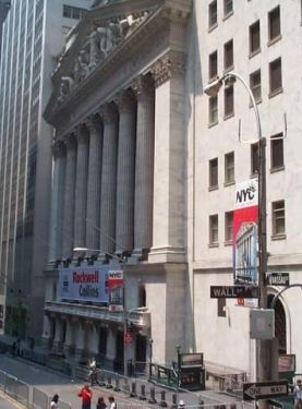 Photo: New York Stock Exchange