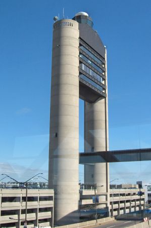 Photo: Boston Airport Control Tower