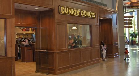 Photo: Fancy Dunkin Donut