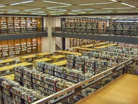 Photo: Stacks at the Boston Public Library