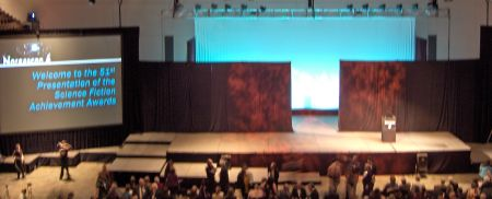 Photo: Hugo Award stage