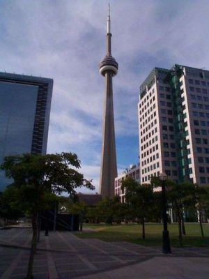 Rather nice shot of the CN Tower