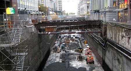 Construction: Canada Line Excavation