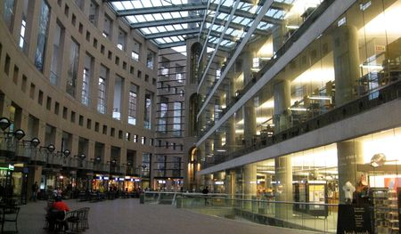 Inside the Vancouver Public Library