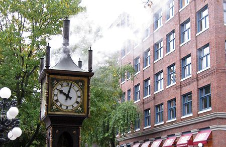 Gastown: The Steam Clock