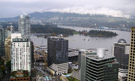 Stanley Park from the Lookout