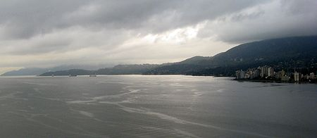 English bay seen from Prospect Point