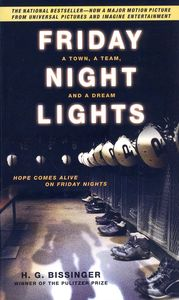 "<em class=""BookTitle"">Friday Night Lights</em>, H.G. Bissinger"
