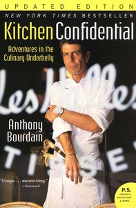 "<em class=""BookTitle"">Kitchen Confidential</em>, Anthony Bourdain"