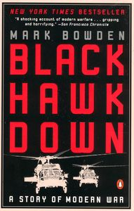 "<em class=""BookTitle"">Black Hawk Down</em>, Mark Bowden"