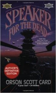 "<em class=""BookTitle"">Speaker for the Dead</em>, Orson Scott Card"