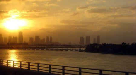 Miami au crepuscule