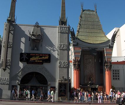 Photo: exterieur du Chinese Theater