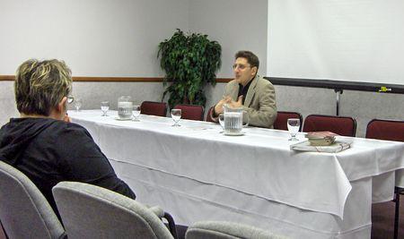 Photo: Introduction au colloque boreal 2006