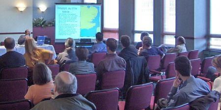 Photo: Boreal 2006, presentation de JLT