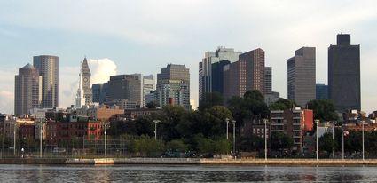 Photo: Un apercu du centre ville de Boston