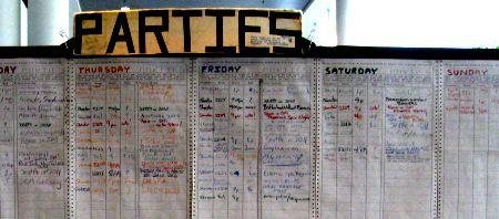 Photo: Liste de Partys