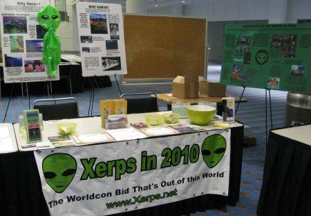 Photo: stand de Xerps en 2010