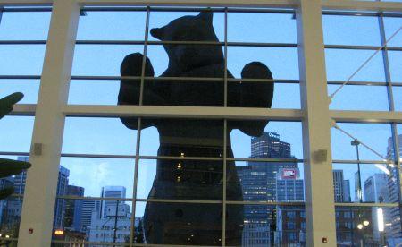 Photo: ours bleu du CCC