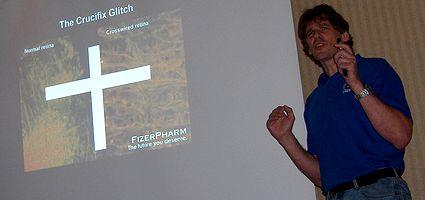 Photo: Presentation de Peter Watts