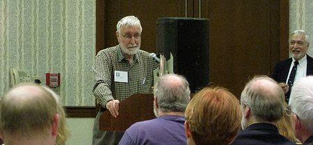 Photo: Dave Duncan au podium