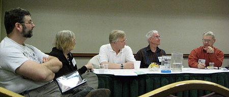 Photo: table ronde sur le CUFF