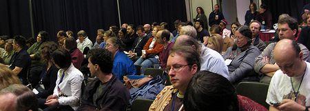 Photo: Table ronde, Mondes fantastiques, audience