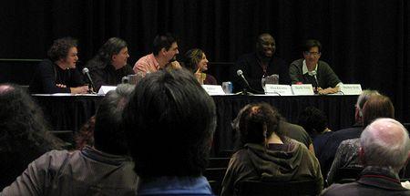 Photo: Table ronde sur les graphic novels de fantasy
