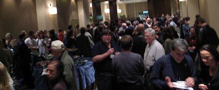 Photo: Foule de personnes a la WFC