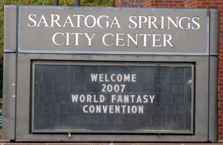 Photo: Bienvenue a la World Fantasy Convention