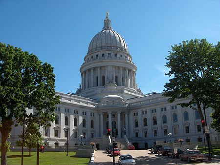 Photo: Madison, Capitole, Jour