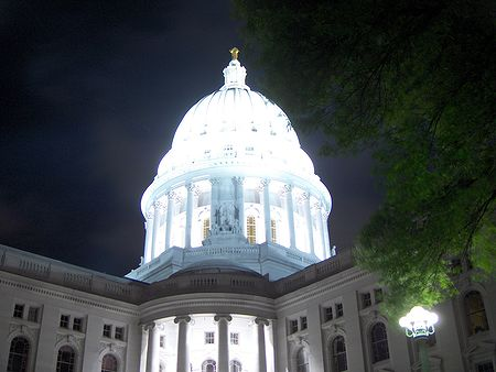 Madison, Capitole, Nuit
