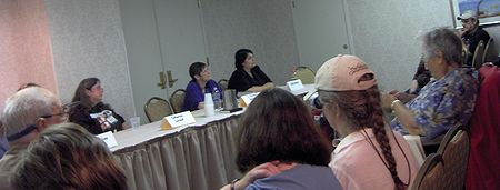 Photo: Wiscon 31, petit panel