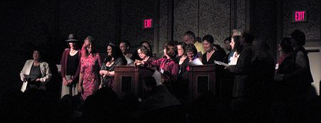 Photo: Remise des Prix Tiptree 2007, serenade