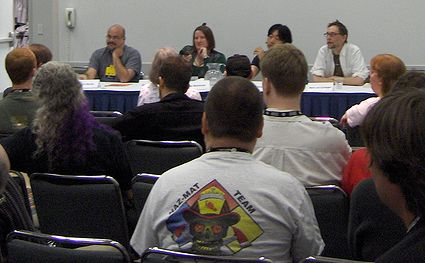 Photo: Panel sur la mort du cyberpunk