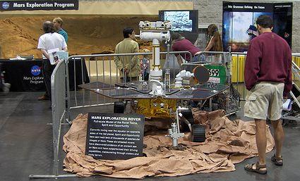 Photo: Mars Rover