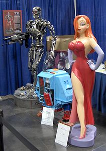 Photo: T-800 et Jessica Rabbit