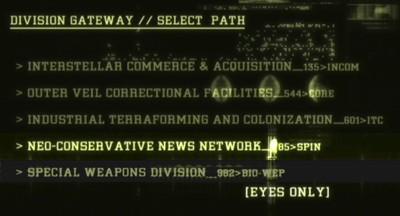 Gag, ecran deux: neo-conservative news network