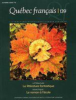 Couverture: Quebec francais 139