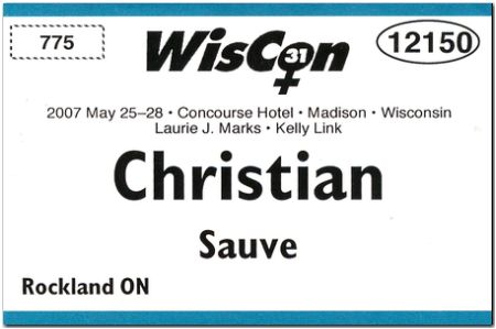 Badge: Wiscon 31