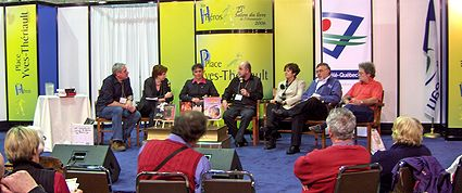 Photo: Discussion, SLO 2006