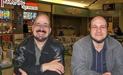 Photo: Laurent McAllister et McAllister Laurent
