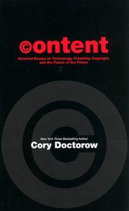 """<em class=""""BookTitle"""">Content</em>, Cory Doctorow"""