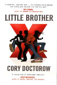 "<em class=""BookTitle"">Little Brother</em>, Cory Doctorow"